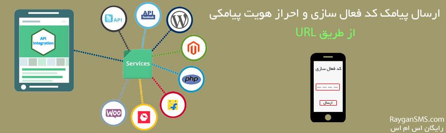 احراز هویت پیامکی از طریق URL
